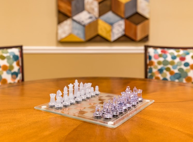 Play Chess with Friends at Pacifica Senior Living Vancouver, WA 98684