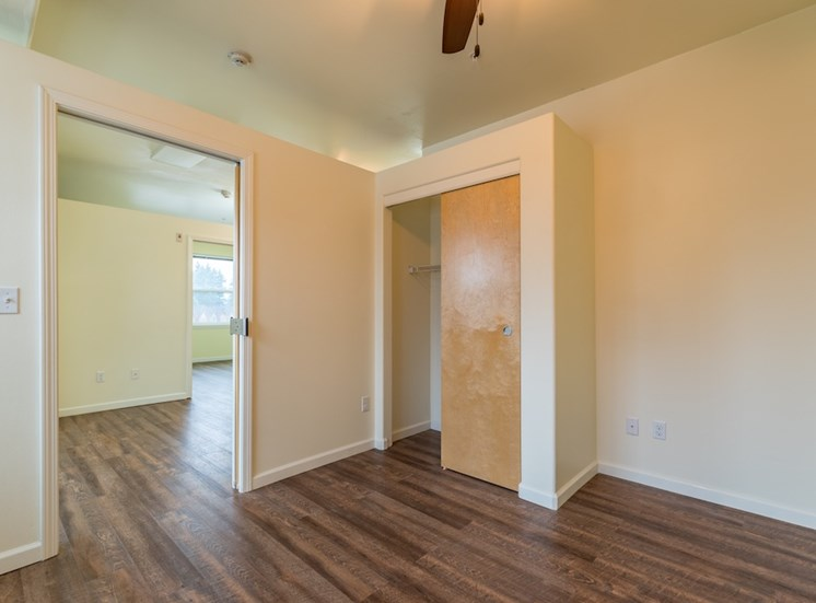 Large Closets and Open Floor Plan  at Pacifica Senior Living Vancouver, WA 98684