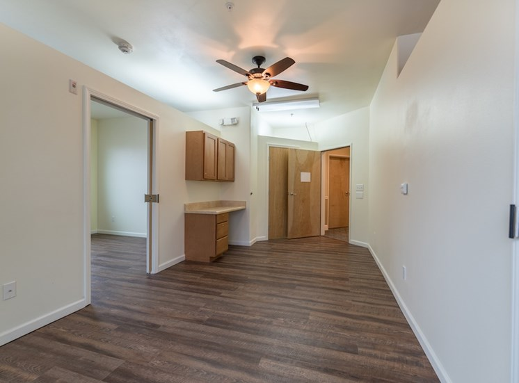Large Updated Interior Floors at Pacifica Senior Living Vancouver, WA