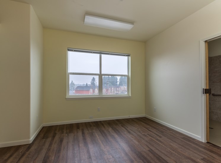 Updated and Well-lit Rooms at Pacifica Senior Living, WA 98684