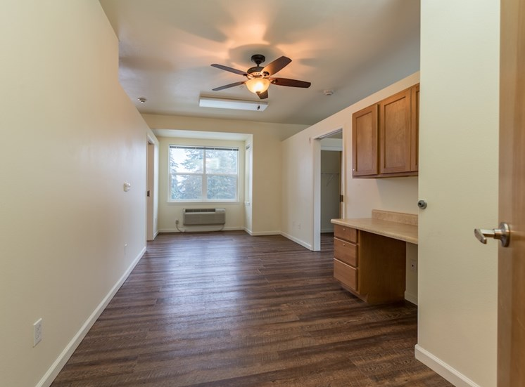 Beautiful Finishes and Hardwood Floors at Pacifica Senior Living Vancouver, WA 98684