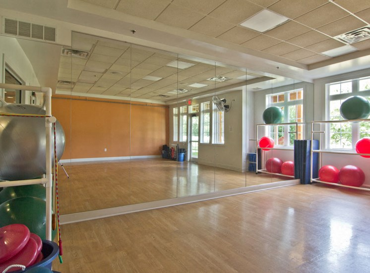 Fitness Center at The Charleston Apartments in Dublin OH