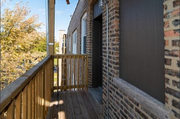 Deck of West Garfield Park Apartments   Pangea Real Estate