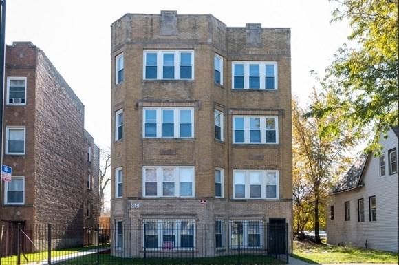 Exterior of West Garfield Park Apartments   Pangea Real Estate