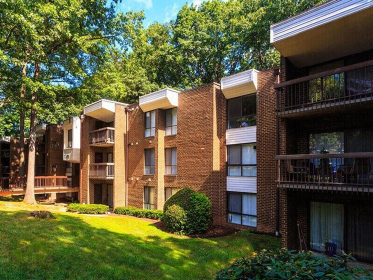 The Forest Apartments Exterior