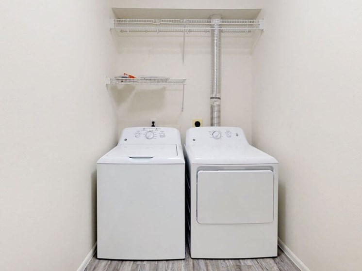 washer & dryer in Grand Rapids townhome