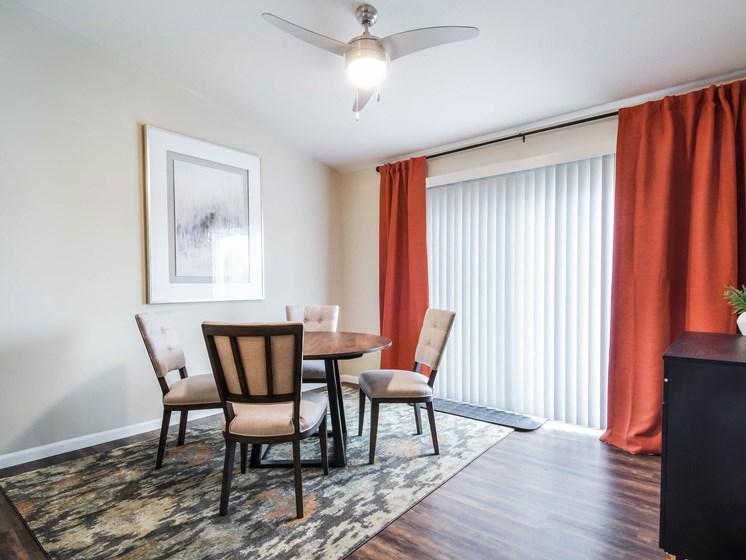 Superior Township MI Apartment Rentals Redwood Apartment Neighborhoods Redwood Superior Township Den Dining Room