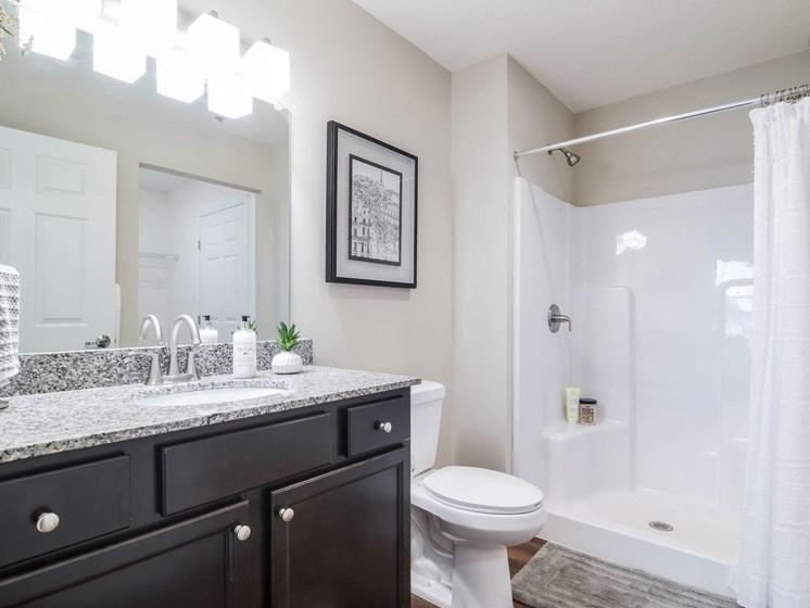 Superior Township MI Apartment Rentals Redwood Apartment Neighborhoods Redwood Superior Township Main Bathroom Suite