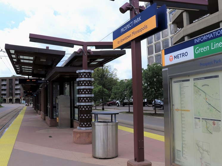 Green Line Prospect Park Station