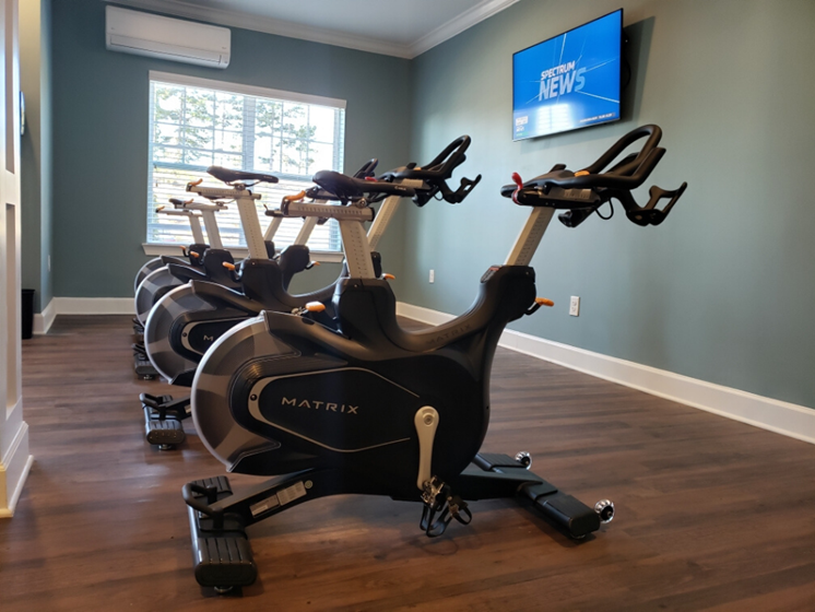 spin cycles in fitness center