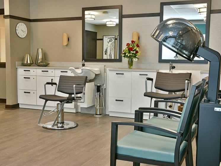 Barber/Beauty Shop at Rose Senior Living – Carmel, Carmel