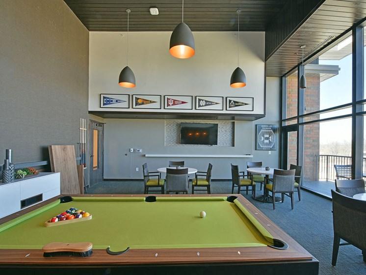 Recreational Area at Rose Senior Living – Carmel, Carmel, IN, 46032