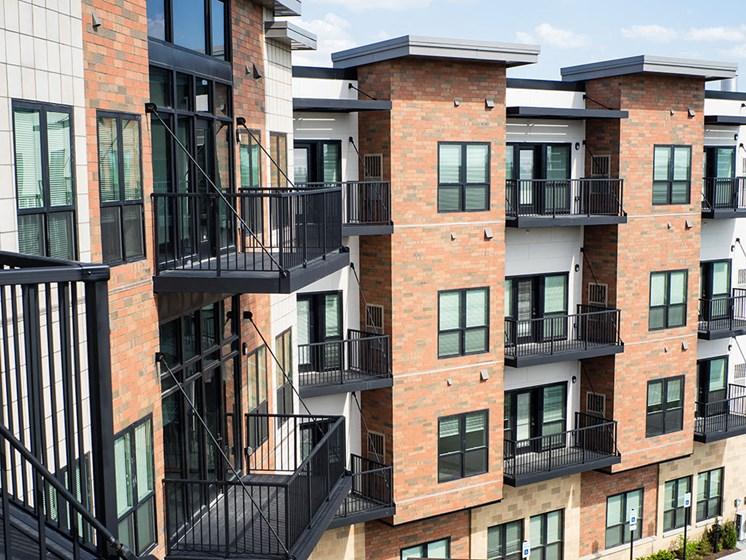 Private Balconies at Rose Senior Living – Carmel, Carmel, Indiana