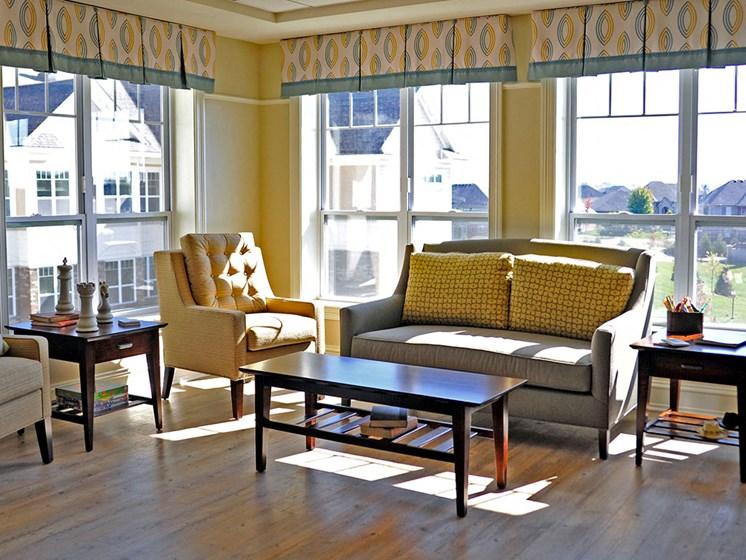 Activity Room at Rose Senior Living – Clinton Township, Clinton Township, MI, 48038