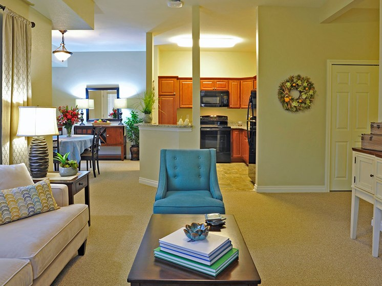 Independent Living Open Layout at Rose Senior Living – Clinton Township, Clinton Township, MI