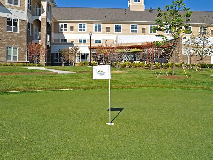 Putting Green at Rose Senior Living – Clinton Township, Clinton Township, 48038