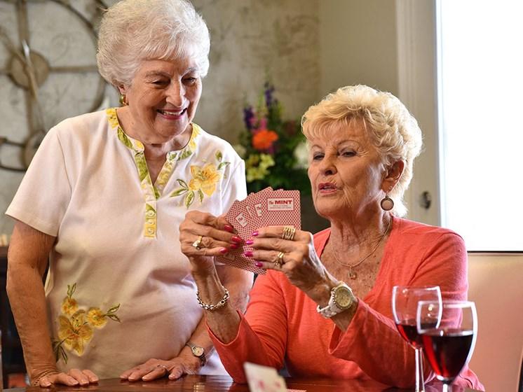 Club Lounge  at Rose Senior Living at Providence Park, Michigan, 48374