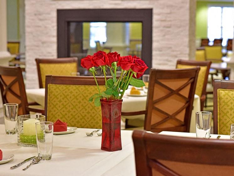 Two Restaurants In Community  at Rose Senior Living at Providence Park, Novi