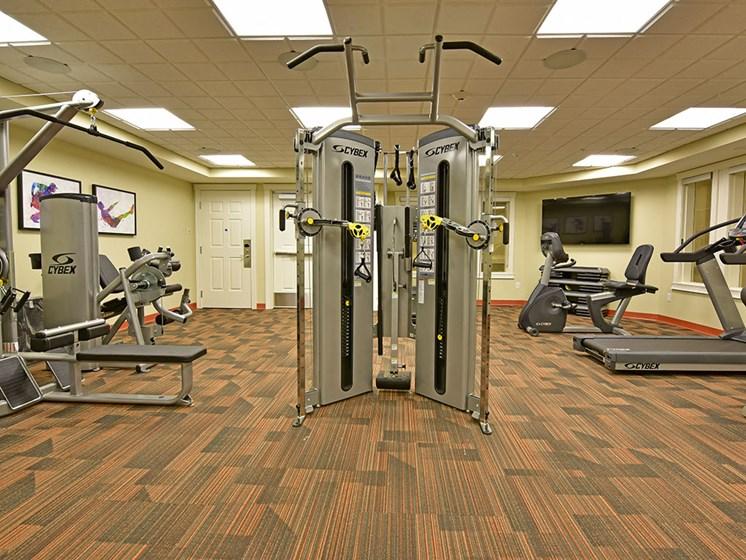 State of the Art Fitness Facility at Rose Senior Living at Providence Park, Novi, MI
