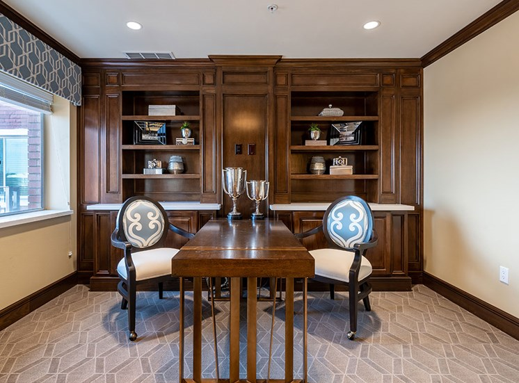 Fabulous Activity Room at Hollywood Hills, A Pacifica Senior Living Community, Los Angeles, California