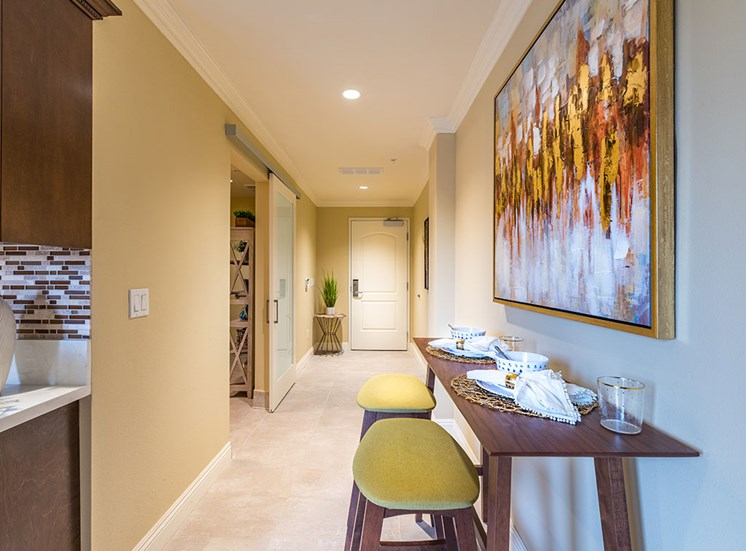 Breakfast Nook at Hollywood Hills, A Pacifica Senior Living Community, Los Angeles, CA