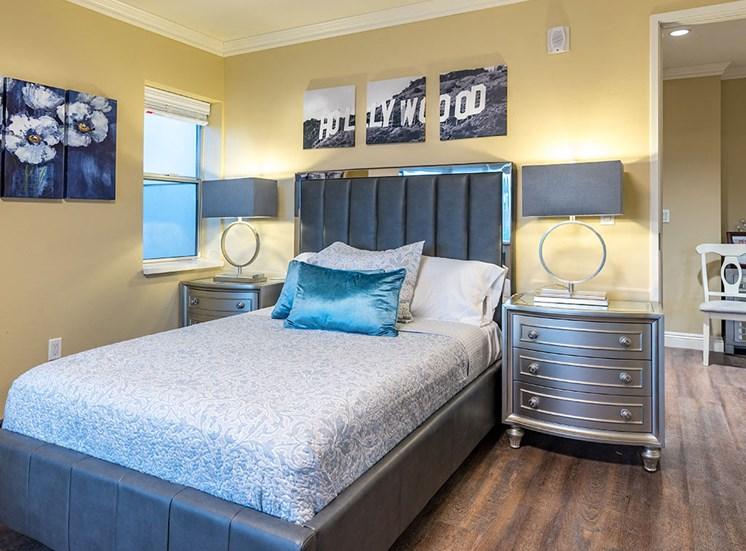 Lavish Bedroom at Hollywood Hills, A Pacifica Senior Living Community, California