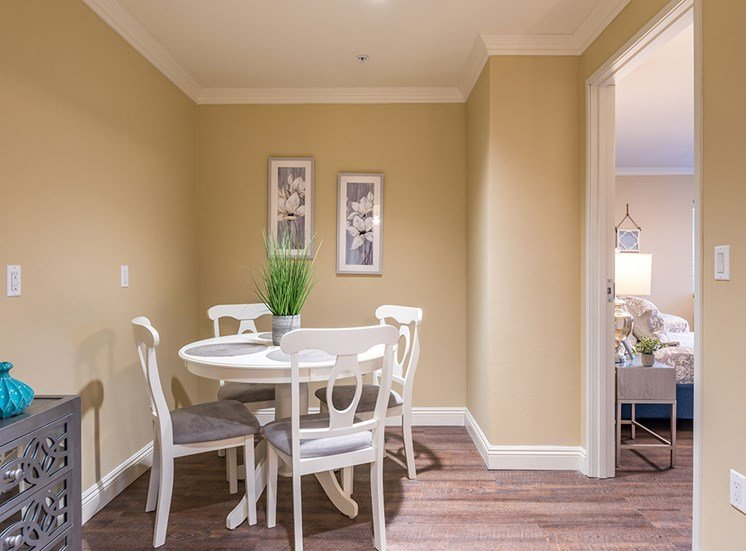 Classic Dining Area at Hollywood Hills, A Pacifica Senior Living Community, California, 90028